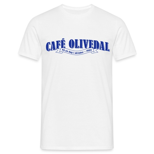Café Olivedal logo - T-shirt herr