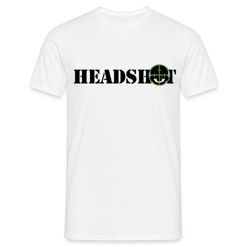 headshot4h - Maglietta da uomo