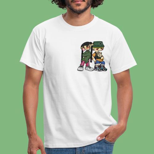 Numero tres y numero cuatro - Camiseta hombre