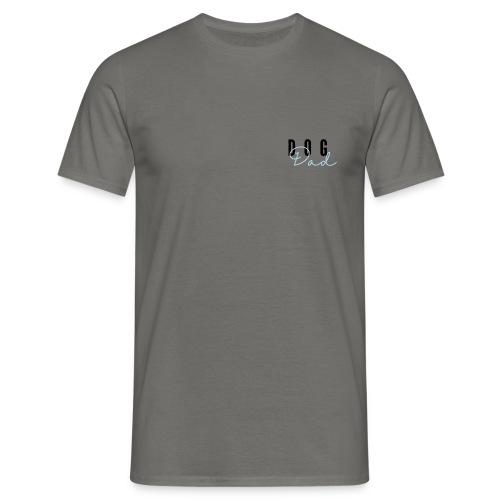 Dog Dad Blue - T-skjorte for menn