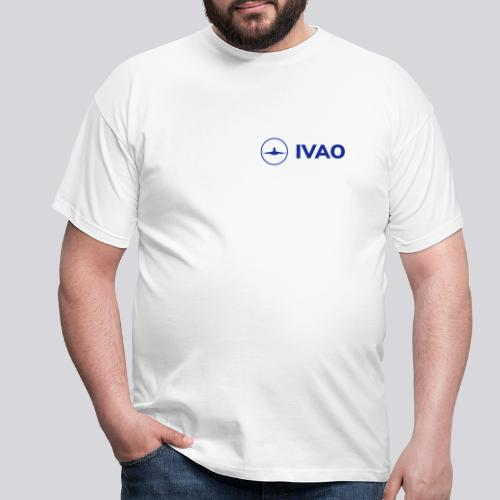 IVAO (Blue Full Logo) - Men's T-Shirt