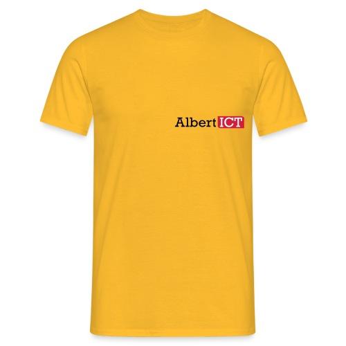 AlbertICT logo full-color - Mannen T-shirt