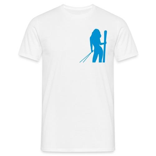 Skigirl - Männer T-Shirt