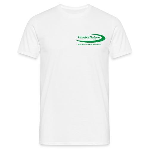 logo in gruen - Männer T-Shirt