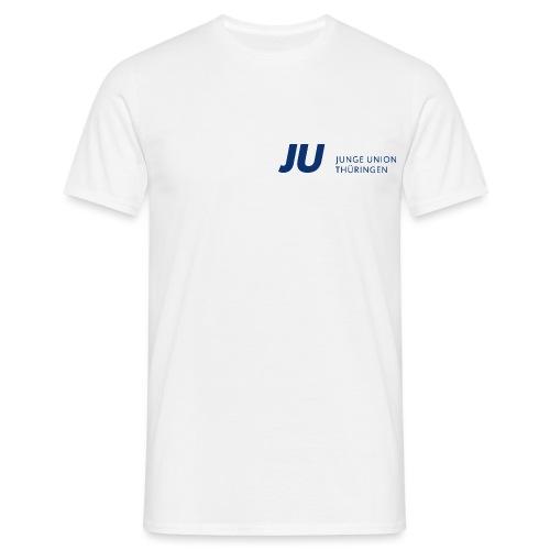 JU Thüringen blau quer - Männer T-Shirt