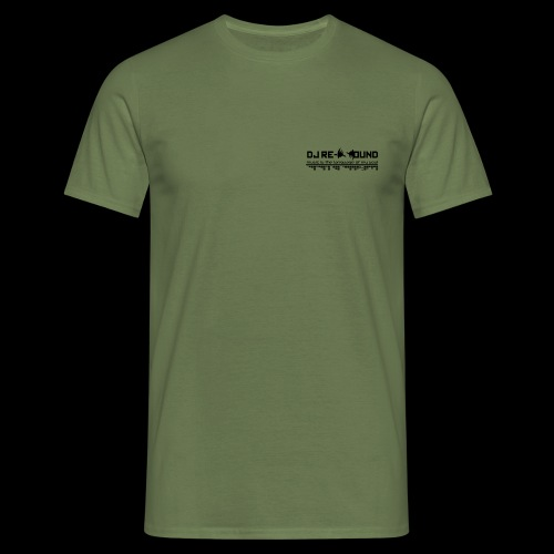 Dj re-sound - Männer T-Shirt