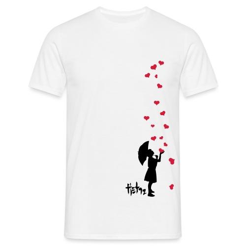 Raining_Love - T-shirt herr