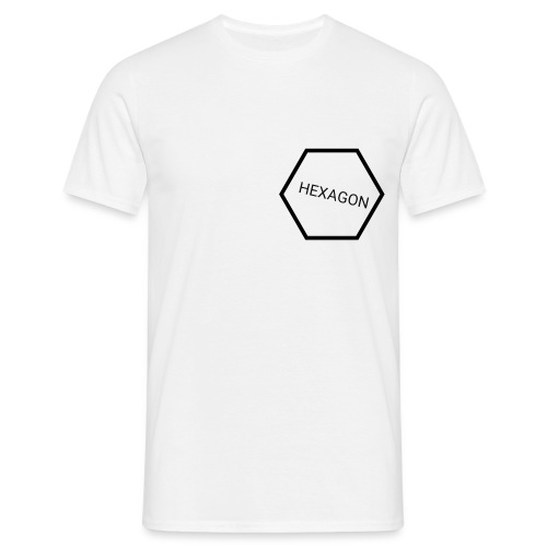 hexagon - Mannen T-shirt