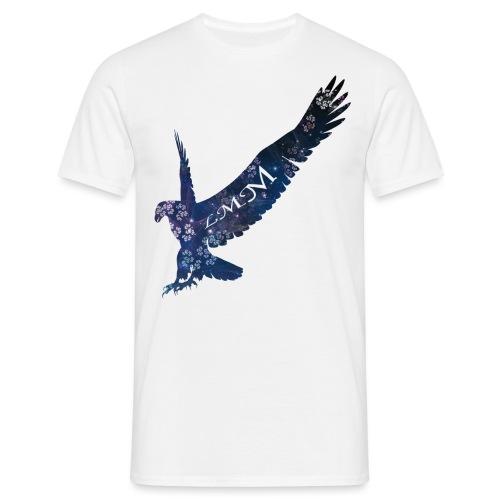 Aigle motif fleurs png - T-shirt Homme