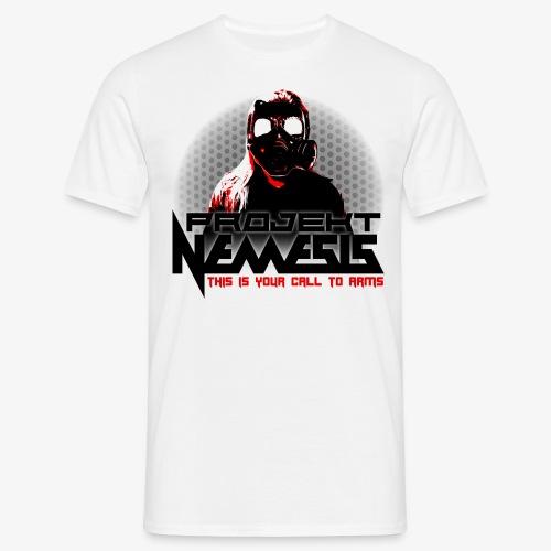 Projekt Nemesis LightLogo - Men's T-Shirt