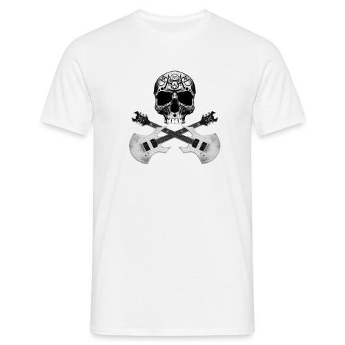 Skull guitar W - T-shirt Homme