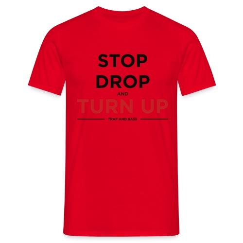 Black Red PNG - Men's T-Shirt