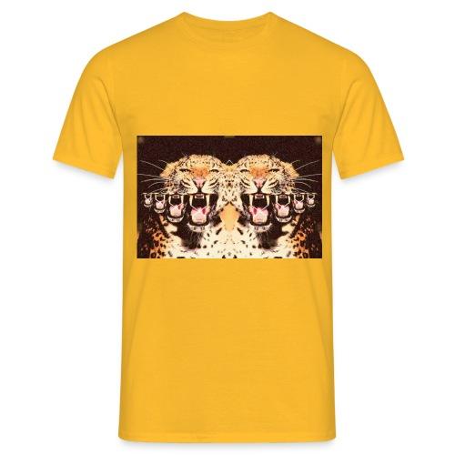 tijgermond jpg - Mannen T-shirt