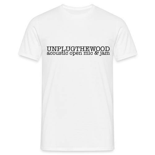 Unplug The Wood letterbox - Men's T-Shirt