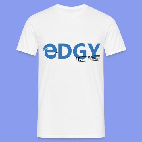 edgy t shirt design 2 png - Men's T-Shirt