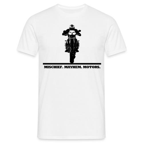wheelie front copy - Männer T-Shirt