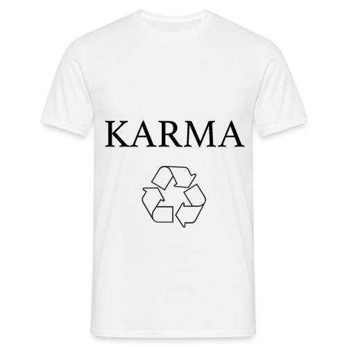 Karma Recycle - Koszulka męska