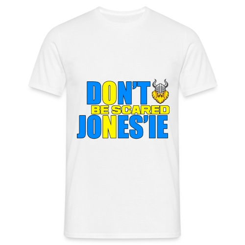 Dont be scared JONESIE png - T-skjorte for menn