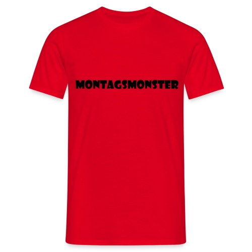 Montagsmonster - Männer T-Shirt