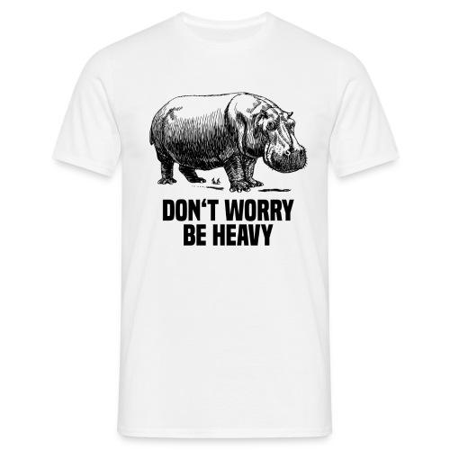 be heavy rino png - Männer T-Shirt