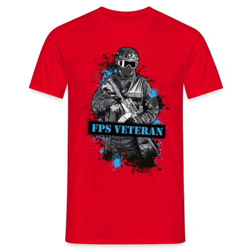 final fpsveteran v2 - Men's T-Shirt