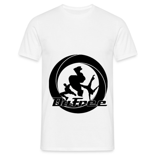 Big DaFree Logo Black - Men's T-Shirt