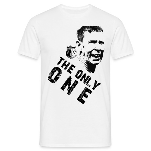 the only one schwarz png - Männer T-Shirt