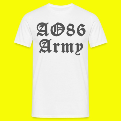 T Shirt Army grau png - Männer T-Shirt