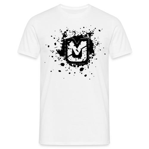 mj logo shatter neu - Männer T-Shirt