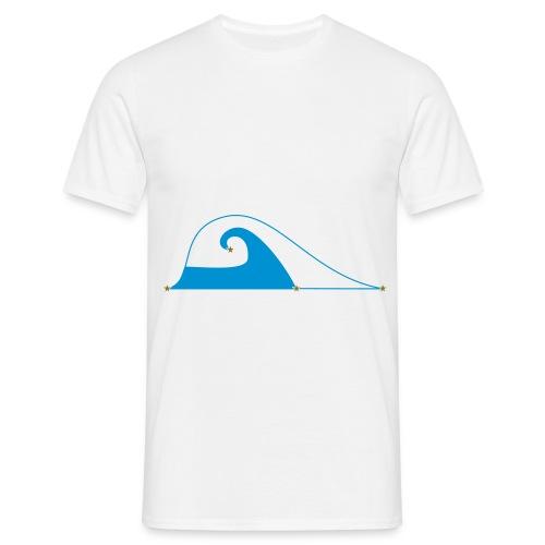Gravity Flow - Men's T-Shirt