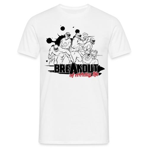 Breakout-Grafik - Männer T-Shirt