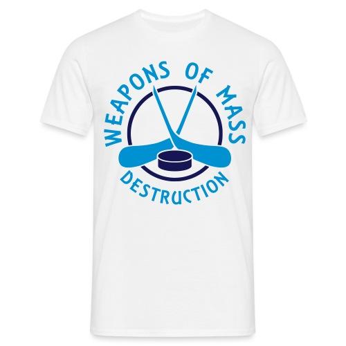Hockey Weapons of Mass Destruction - Men's T-Shirt