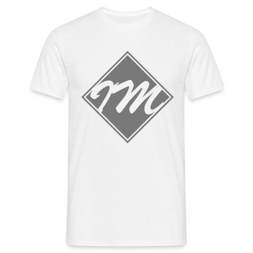 Shirt Design Diamond Grey png - Men's T-Shirt