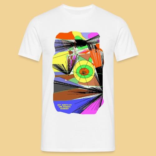 abstrakt 9 - Männer T-Shirt
