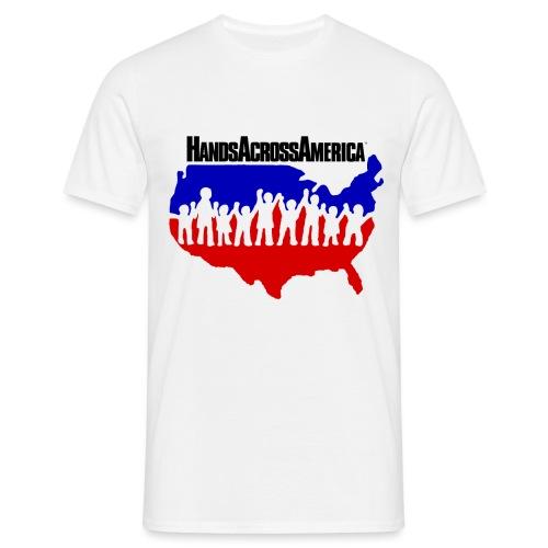 Hands Across America - Men's T-Shirt