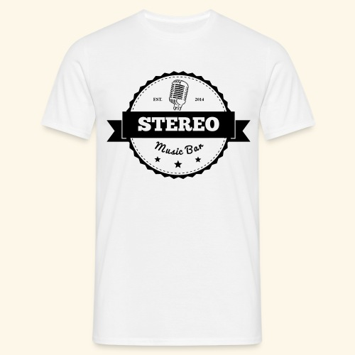 Stereo Retro Design - Männer T-Shirt