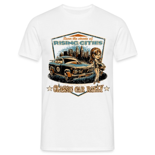 risingcities classiccarrally - Männer T-Shirt