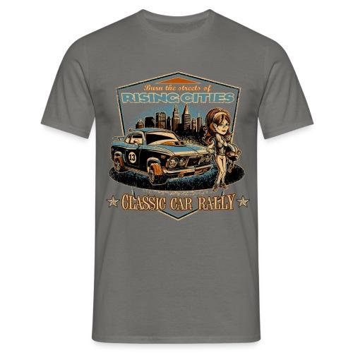 risingcities classiccarrally - Männer T-Shirt