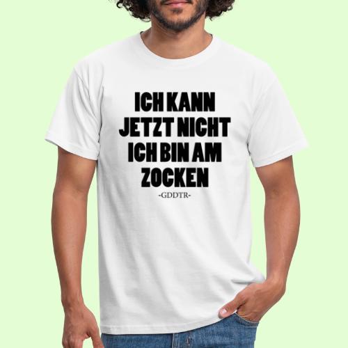 Kann jetzt nicht - Männer T-Shirt