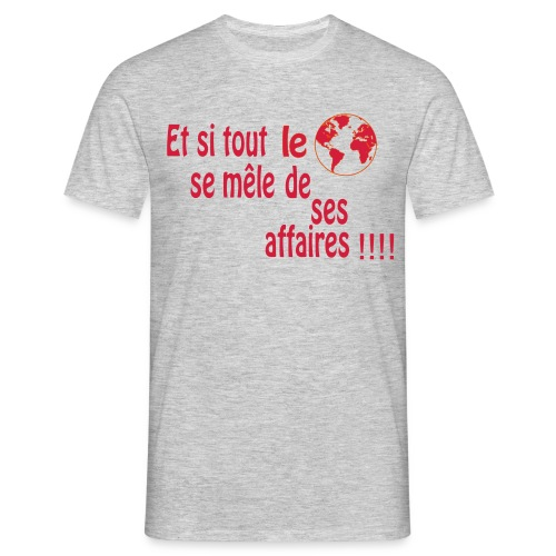 BNT création - T-shirt Homme