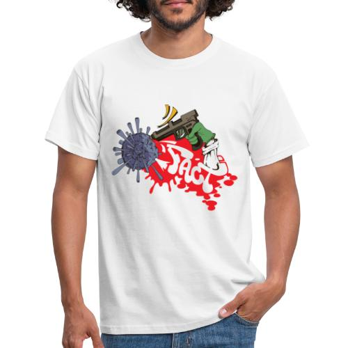 FACT CSC X iorestoacasaArtistiUniti - Maglietta da uomo