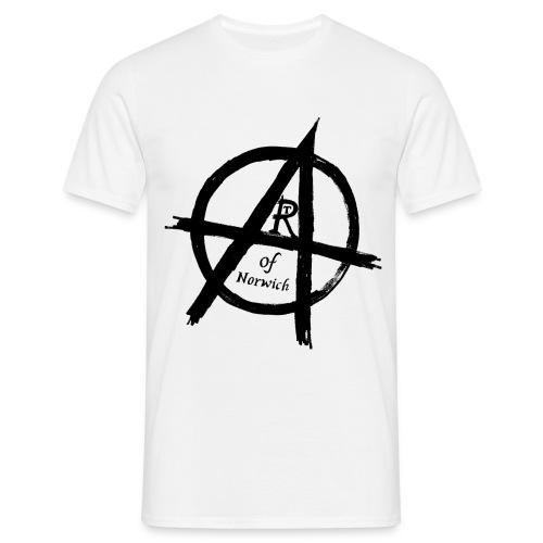 #ANARTISTSUPRISING black - Men's T-Shirt