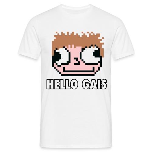 hellogais uppercase - Men's T-Shirt