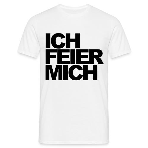 ICHFEIERMICH1 png - Männer T-Shirt