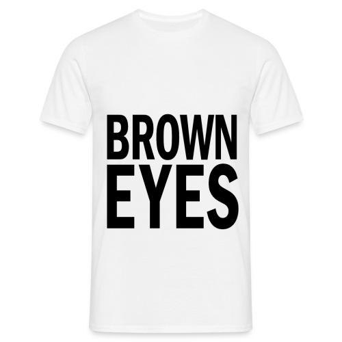 Brown Eyes png - Men's T-Shirt