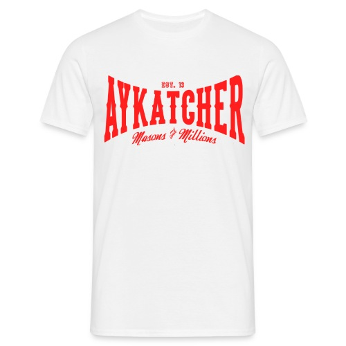 Aykatcher Logo Rot - Männer T-Shirt