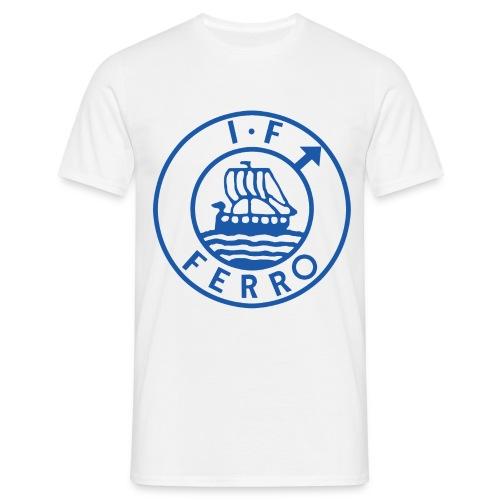 big logo Ferro png - T-shirt herr