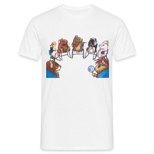 Meeri Suchthilfe Gruppe ohne HG - Männer T-Shirt