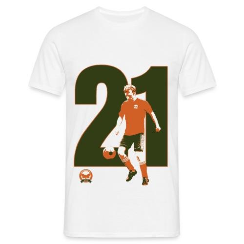 21Struts-tryck - T-shirt herr