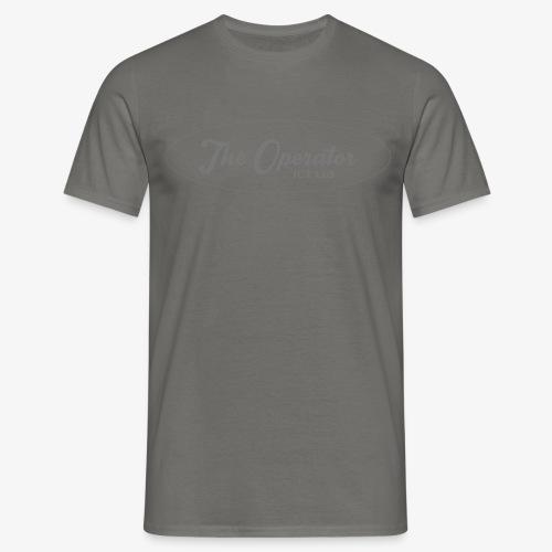The Operator Logo Black - Men's T-Shirt